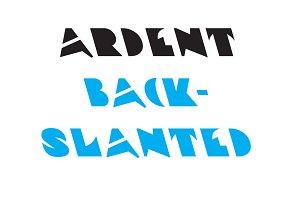 Ardent Backslanted