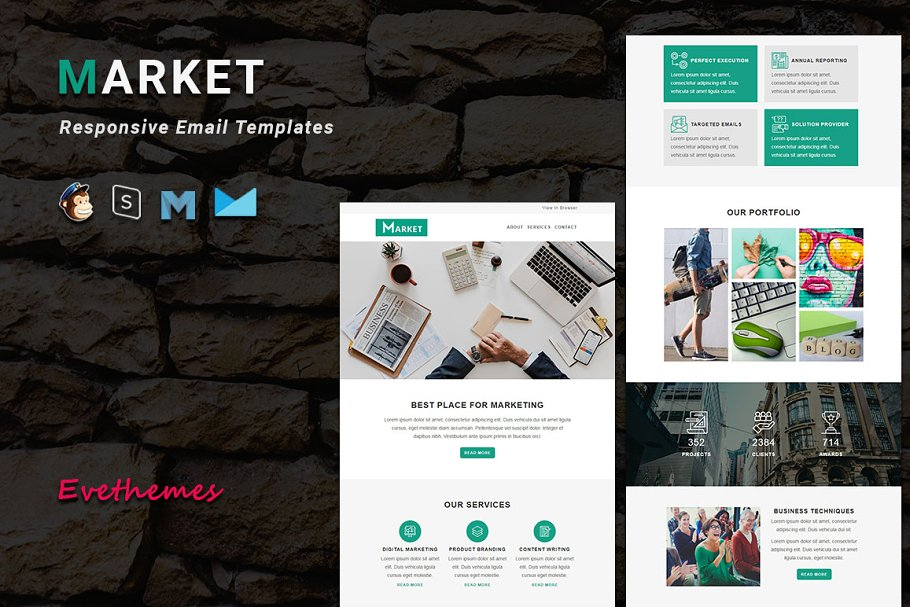 MARKET - Responsive Email Template