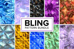 50 Bling Patterns - Bundle