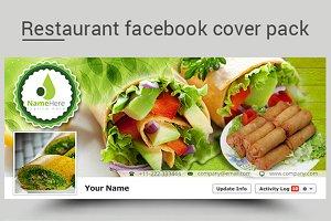 Restaurants Facebook Covers Pack