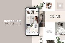 Instagram PUZZLE template - Classy