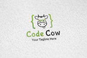 Code Cow Logo