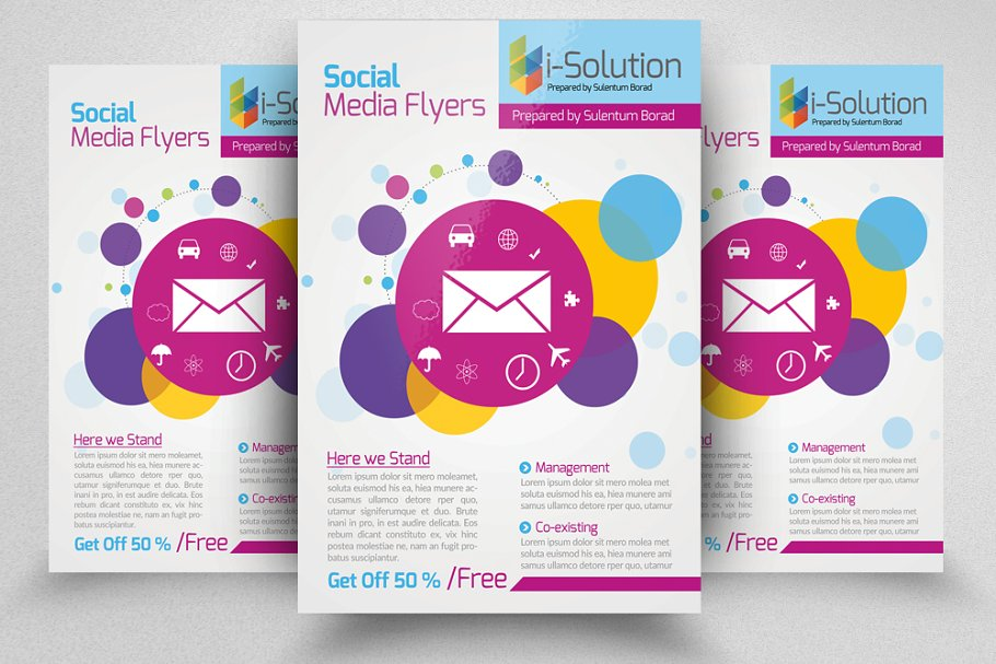 Socail Media Flyer Template in Flyer Templates - product preview 8