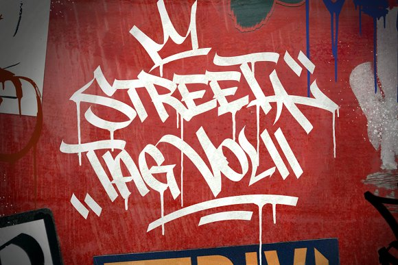 Graffiti Font | Street Tag Vol2 in Display Fonts - product preview 5