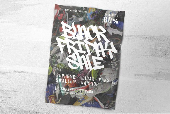 Graffiti Font | Street Tag Vol2 in Display Fonts - product preview 13