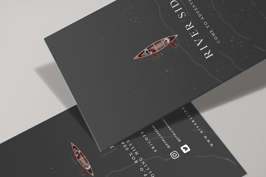 RIVER SIDE BUSINESS CARDS