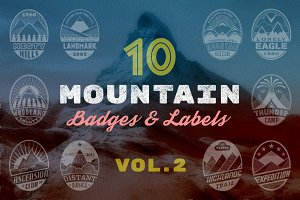 Mountain Badges vol. 2