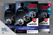 Security Services Company Flyer