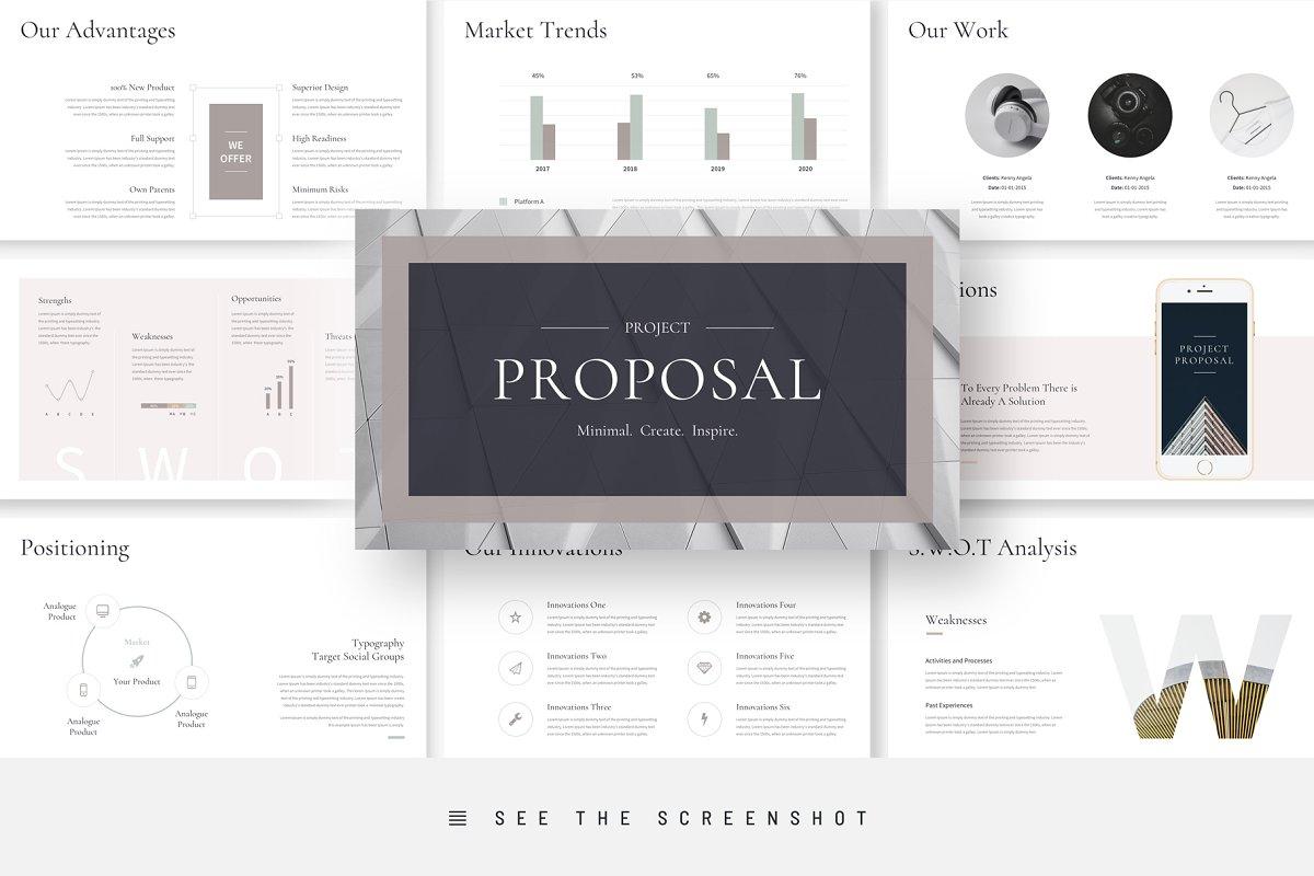 Project Proposal Google Slides