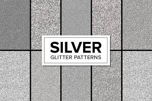 Silver Glitter Patterns