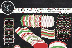 Ho Ho Christmas, 94-Clipart/Elements