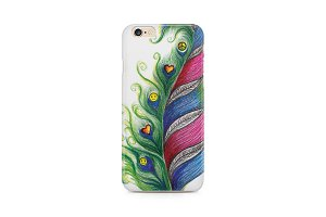 Feather of joy  design for mobile