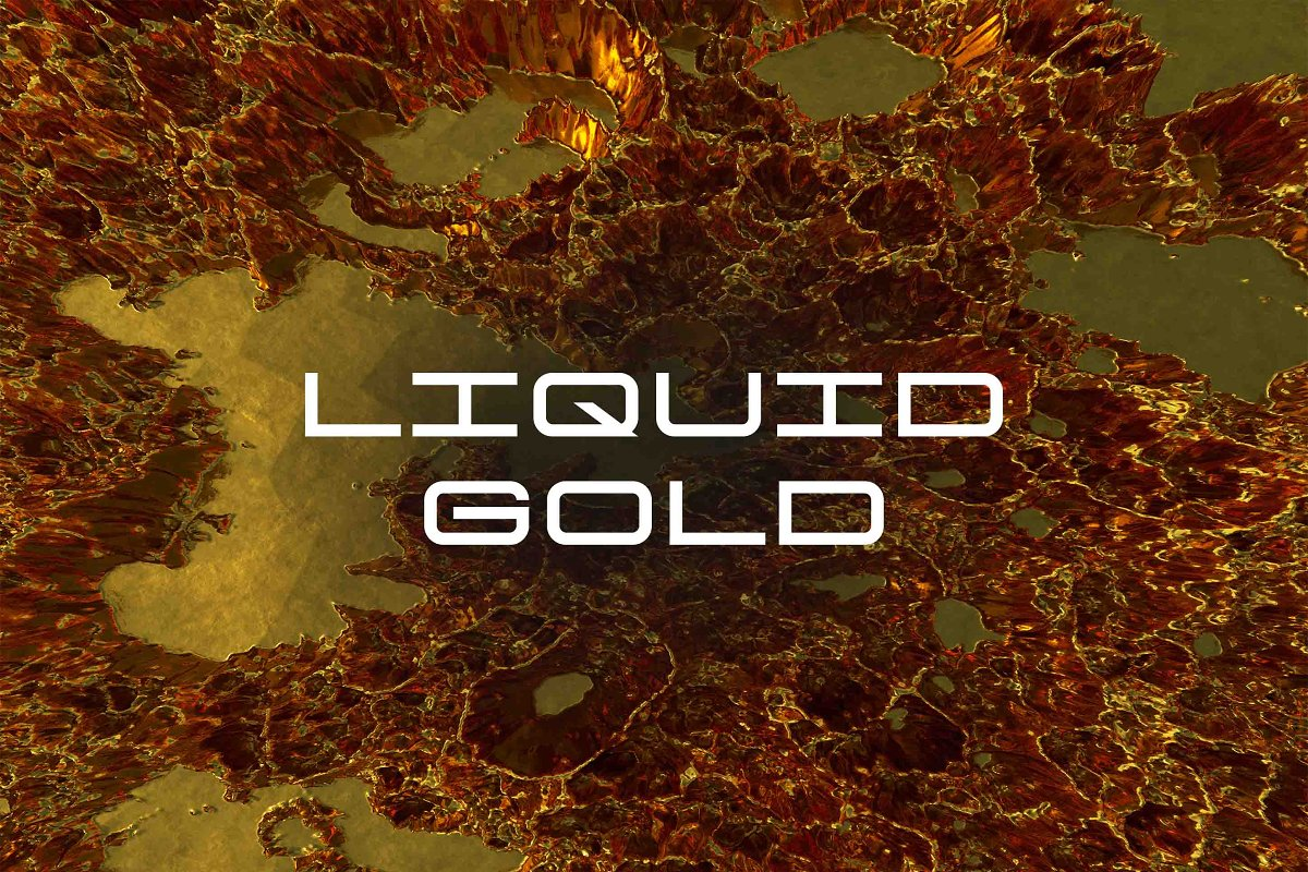 Liquid Gold in Textures - product preview 8
