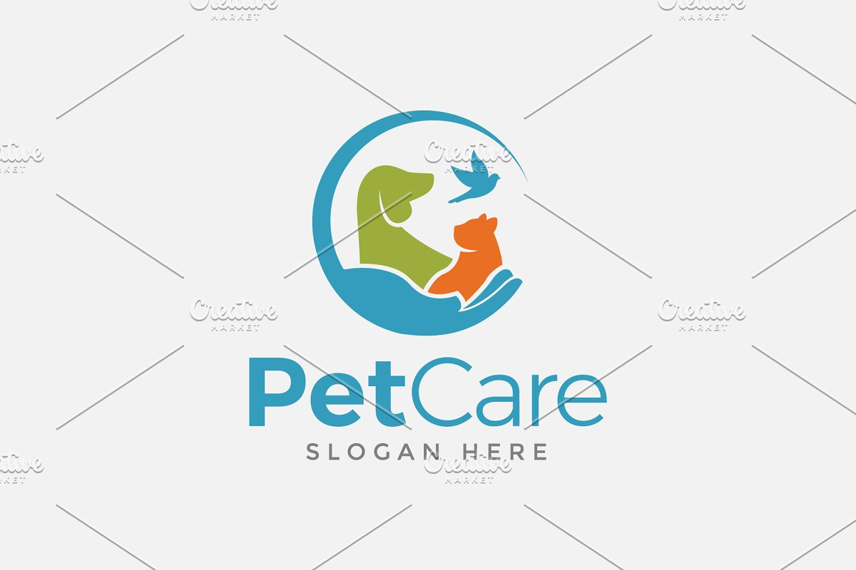 Pets Care Logo