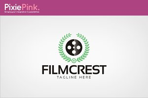 Film Crest Logo Template