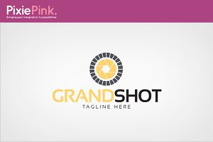 Grand Shot Logo Template