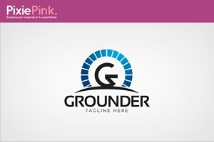 Grounder Logo Template