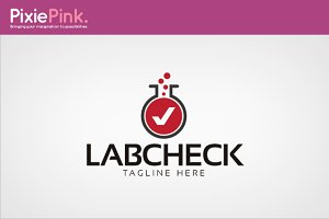 Lab Check Logo Template