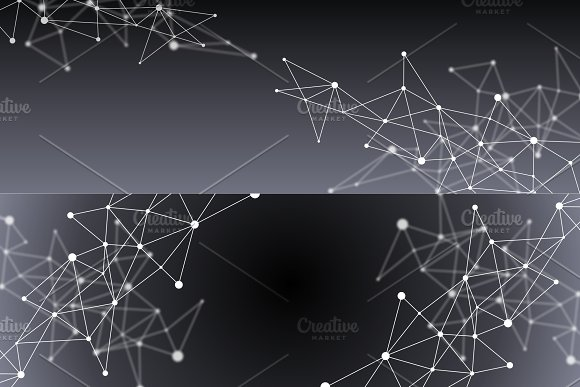 8 Blockchain Backgrounds Set 5 in Textures - product preview 4