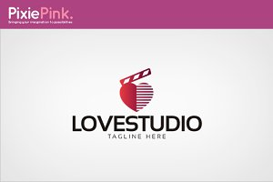 Love Studio Logo Template