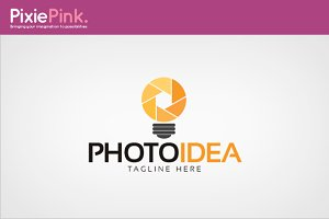 Photo Idea Logo Template