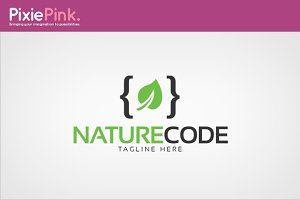 Nature Code Logo Template