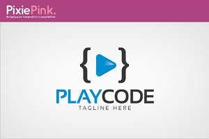 Play Code Logo Template