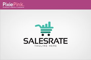 Sales Rate Logo Template