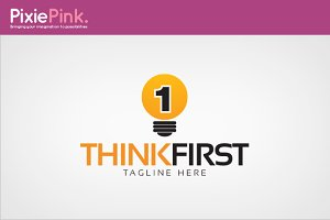 Think First Logo Template