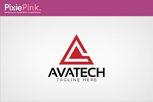 Avatech Logo Template