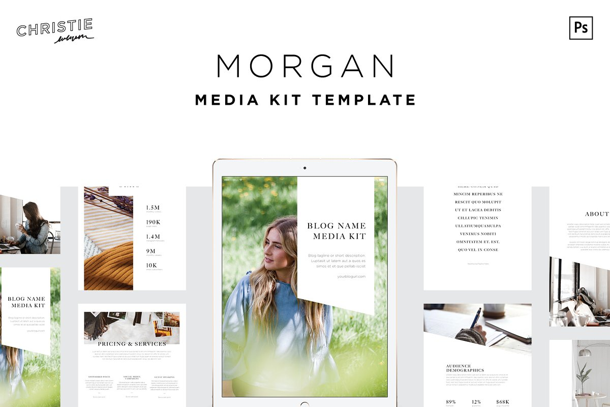 Morgan Media Kit Template