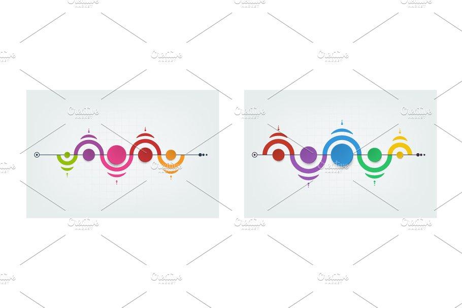 Infographics design templates
