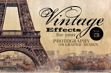 Vintage Effects for Photo, Designs 3