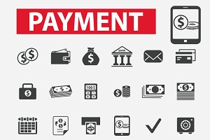 30 payment icons