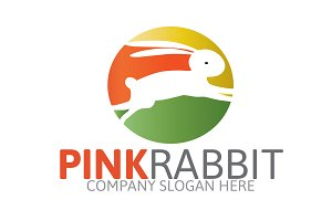 Pink Rabbit Logo