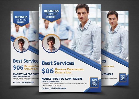 Corporate business flyer template flyer templates creative market corporate business flyer template flyers fbccfo Image collections