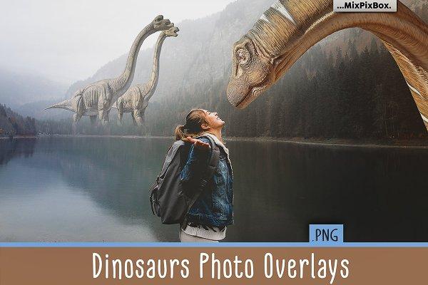 Dinosaurs Photo Overlays Pack
