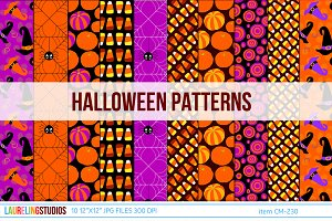 Halloween digital patterns