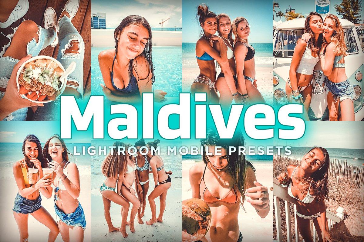 Mobile Lightroom Presets - Maldives