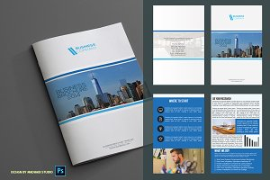 Corporate Bifold Brochure Vol 03