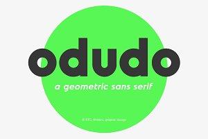 Odudo - Typeface