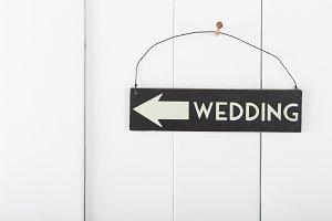 Sign wedding