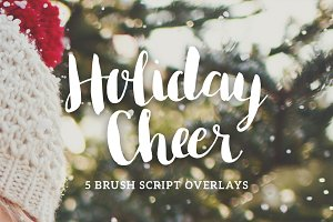 Christmas and Holidays Overlays