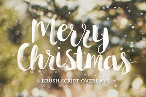 Christmas Photo Overlays - Script
