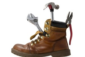 Work boot tools