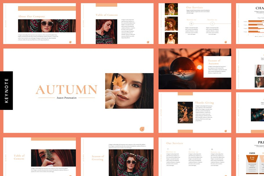 Autumn Season - Keynote