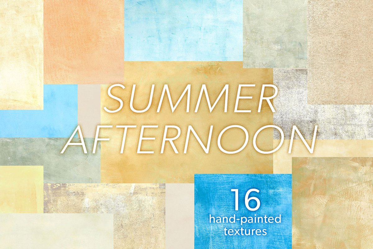 Summer Afternoon Textures Pack