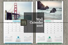 Wall Calendar 2016 (WC05)