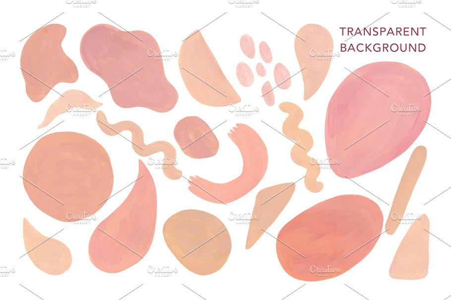 Abstract Shapes. Hand drawn texture in Textures - product preview 2