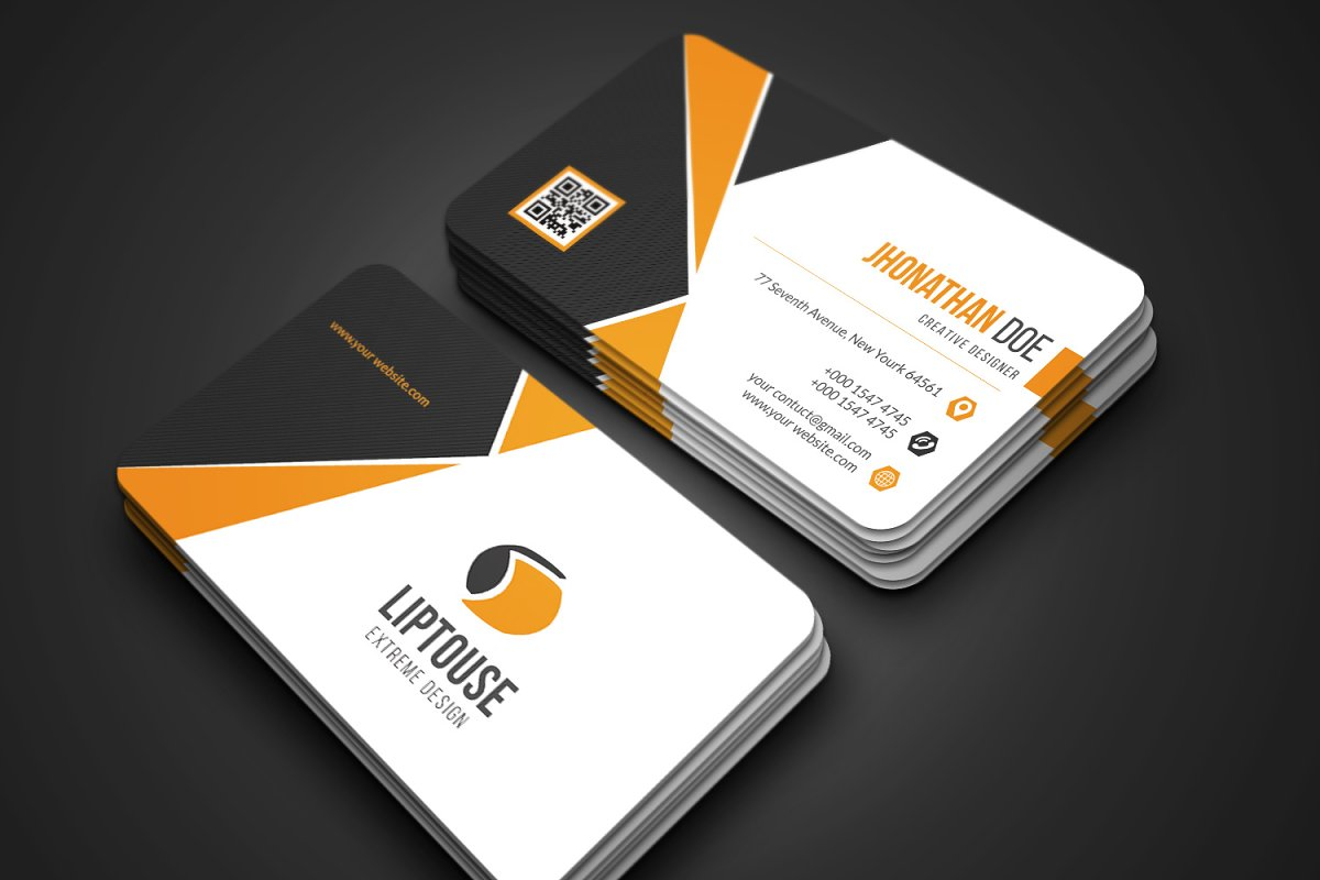 Modern Business Card in Business Card Templates